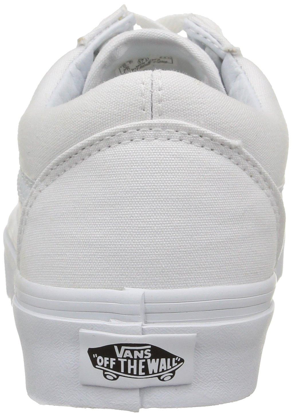 Vans Old Skool Unisex Adults' Low-Top Trainers B0020MMHCU Men's 8, Women's 9.5 Medium|True White