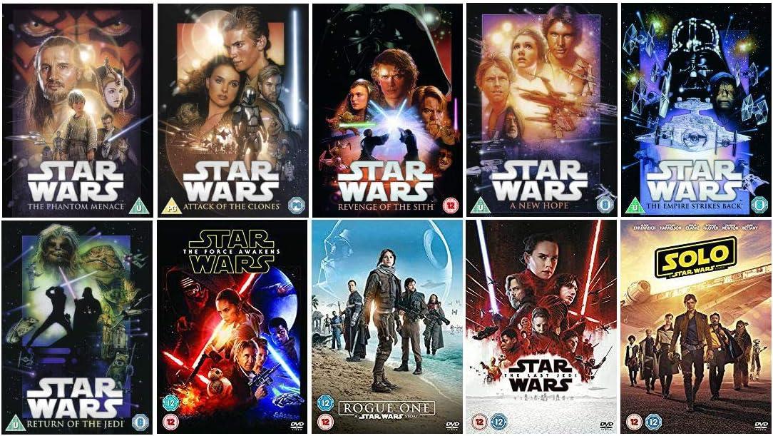 Star Wars collection movie series
