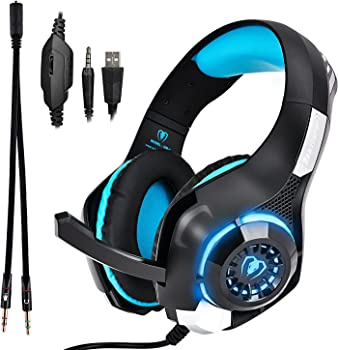 TUPELO GM-1 Over-Ear 3.5mm Wired Gaming Headphones