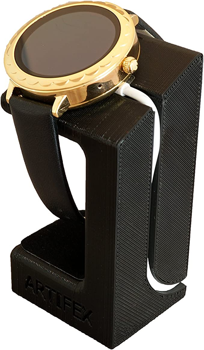 Black LvBu Wireless Charging Dock Cradle Charger for Kate Spade Smartwatch for Kate Spade Smartwatch Charger