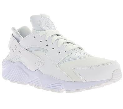low priced d5c28 6748f Nike Air Huarache Men s Sneaker White 318429 106, Size 43
