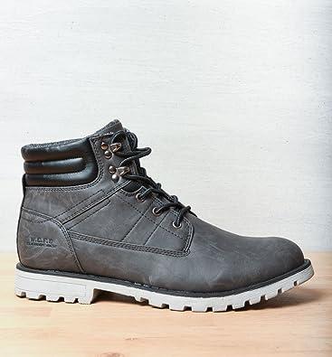 ebd5ab5550 MyB HOMME Bottines Gris Homme Chaussea: Amazon.fr: Chaussures et Sacs