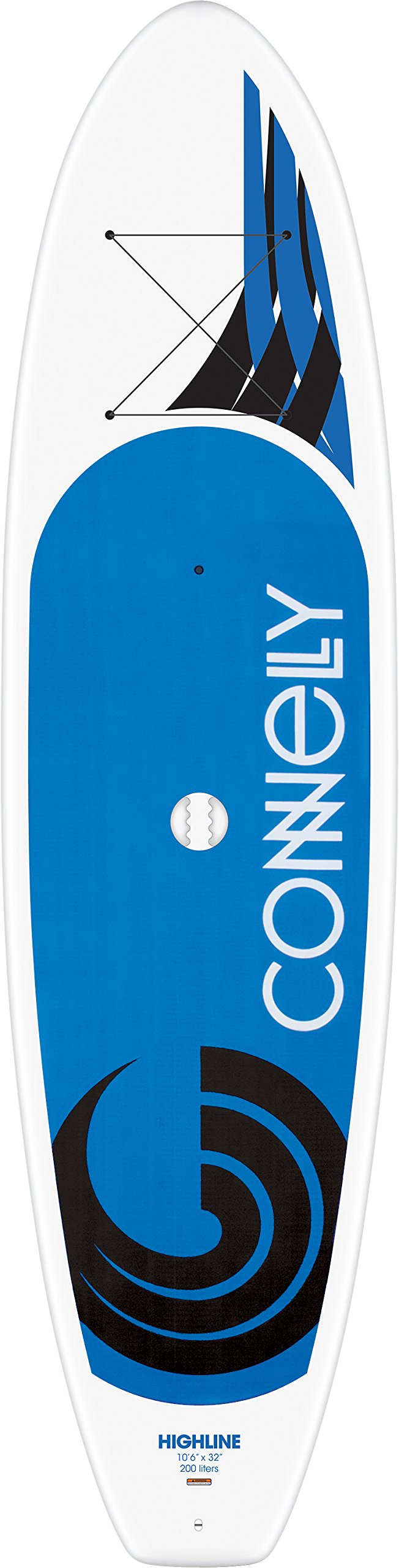 Connelly Highline Stand Up 2017 Paddleboard with Paddle, 10'6'' x 32'' by CWB