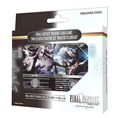Wraith vs Knight Deck - Square Enix Final Fantasy Opus IX Trading Card Game Two Player Starter Set: Toys & Games