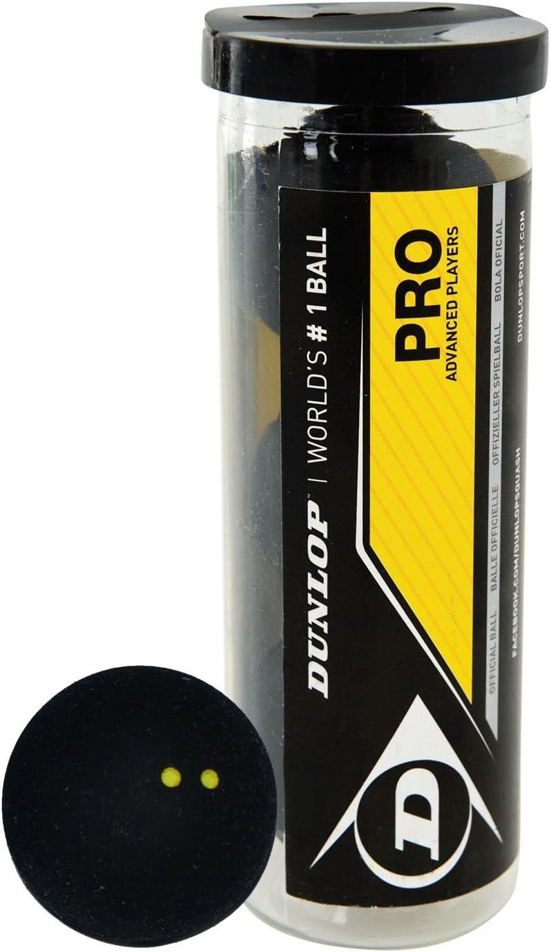 Dunlop Pro - Pelotas de Squash (3 Unidades): Amazon.es: Deportes y ...