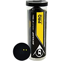 Dunlop Pro - Pelotas de Squash (3 Unidades)