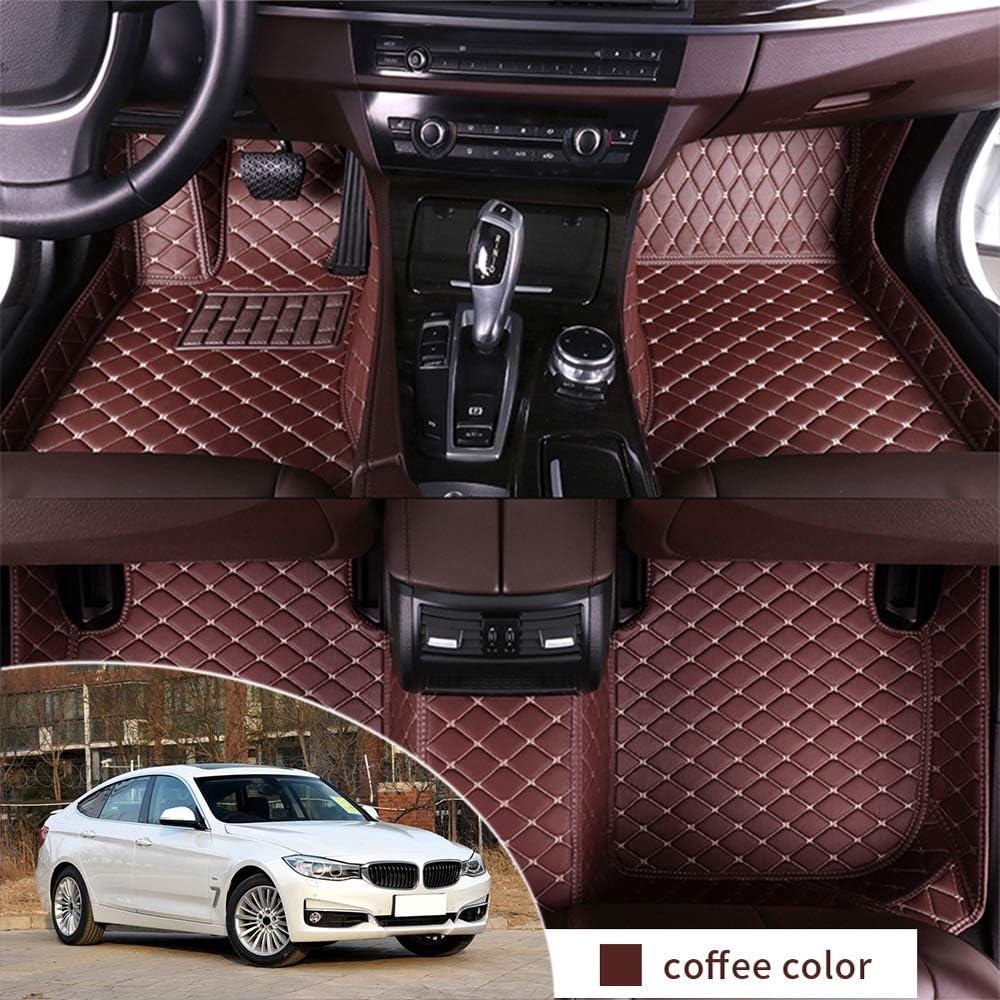 All Weather Floor Mat for BMW 320i 328i 335i F34 2013-2019 GranTurismo Full Protection Car Accessories Black /& Beige 3 Piece Set