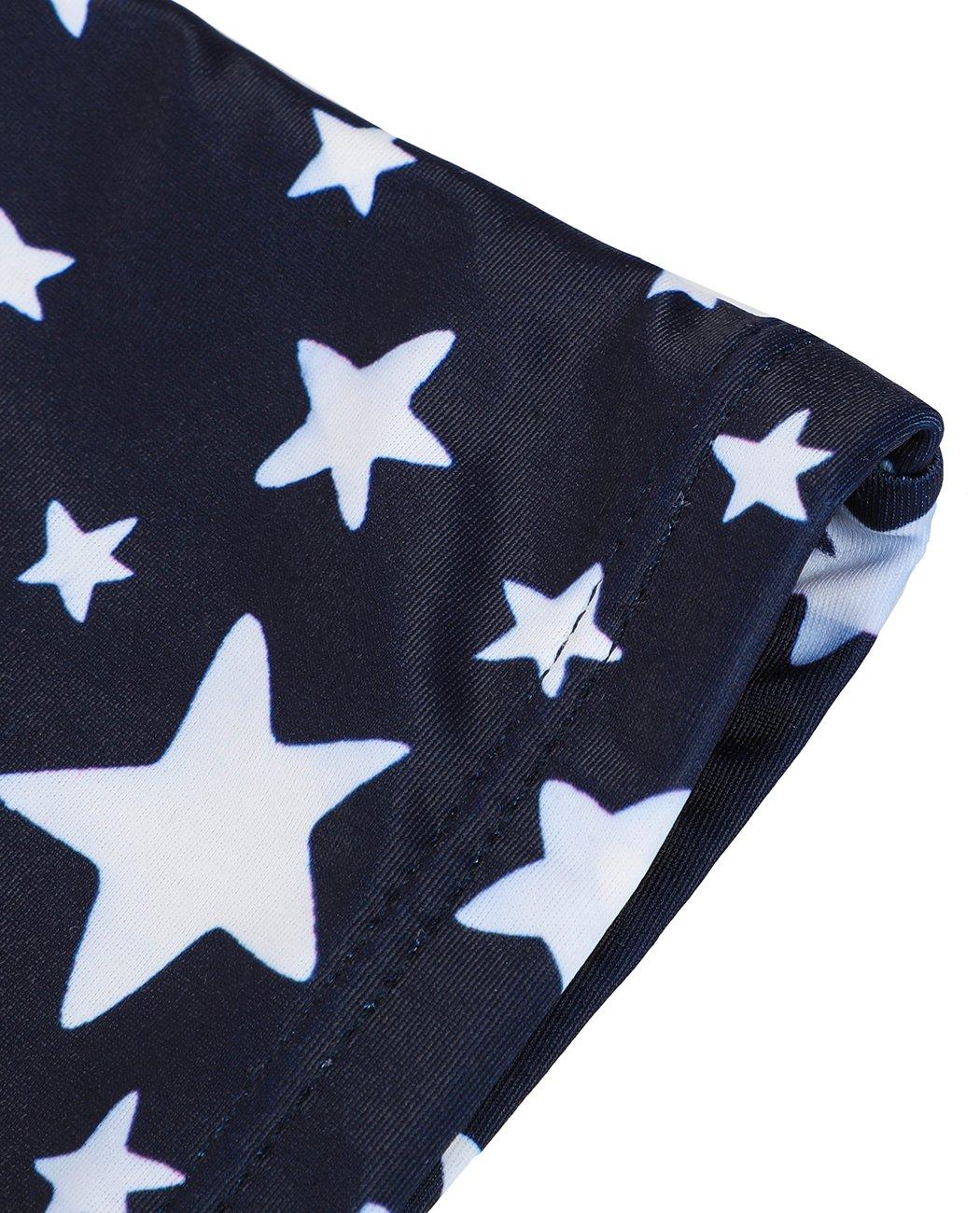 iDrawl Girls Tankini Beach Sport Swimsuit Two Piece Stars Swimwear by iDrawl (Image #5)