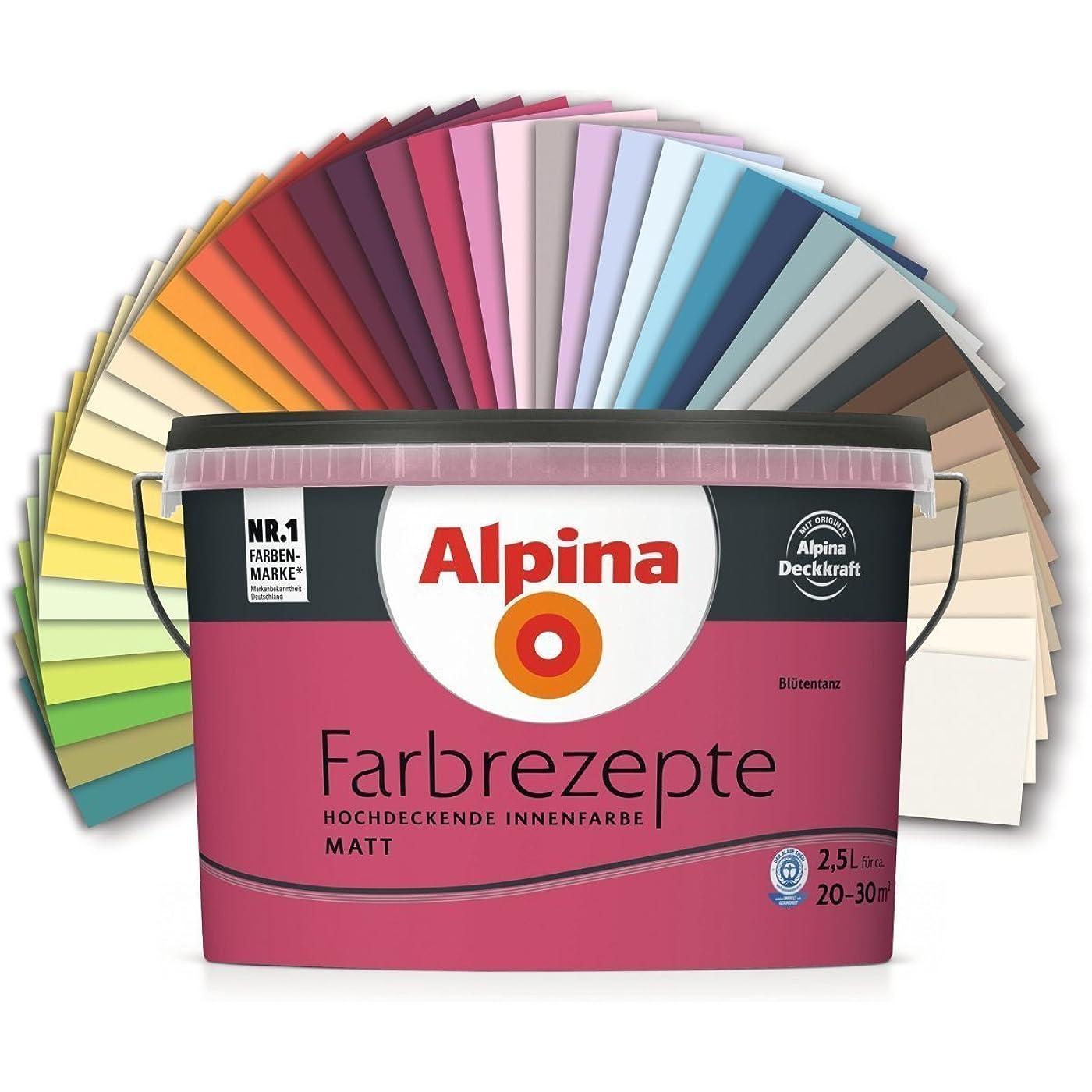 Eine hochwertige Wandfarbe finden Sie bei der Marke Alpina.