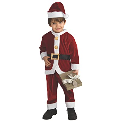 Child's Little Santa Costume, Small: Toys & Games