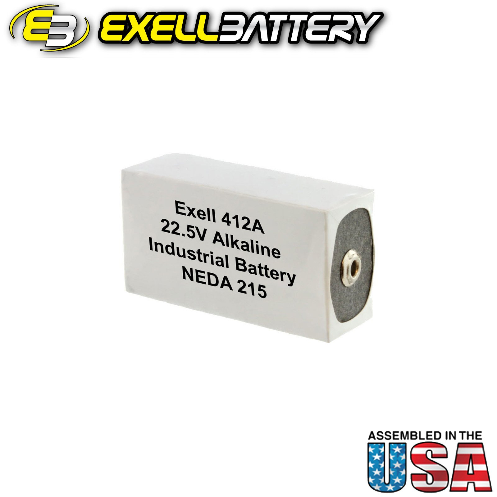 20pc Exell 412A Alkaline 22.5V Battery NEDA 215, 15F20, BLR122 by Exell Battery (Image #2)