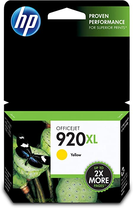 The Best Hp 902Xl Yellow Ink Cartridge T6m10an