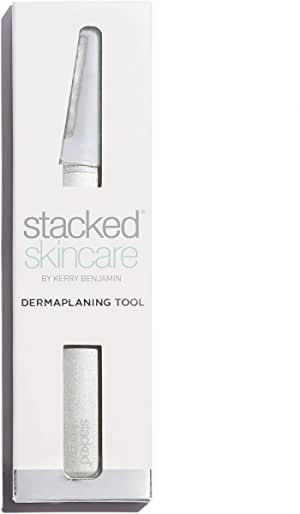 (Dermaplaning Tool) - Facial Exfoliating Tool for Face - Dermaplaning Tool - The Perfect Tool for Smooth, Radiant Skin. No Exfoliating Brush or Scrub Needed for Glowing Skin