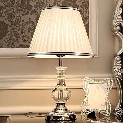 BMKY lámpara de mesa De estilo europeo simple y elegante ...