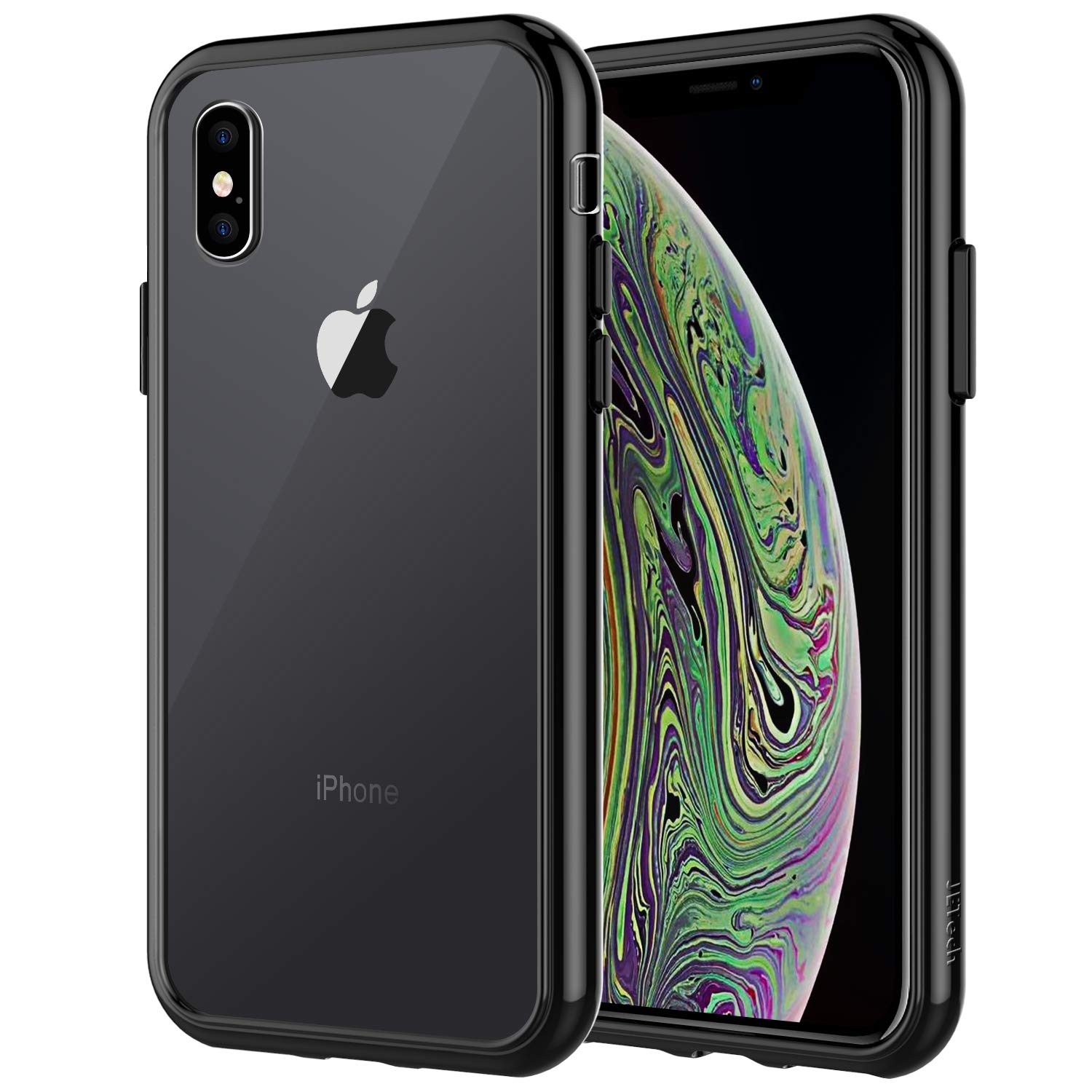 factory authentic cd8d0 18333 JETech Case for Apple iPhone Xs and iPhone X, Shock-Absorption Bumper  Cover, Black