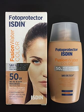 ISDIN FOTOPROTECTOR FUSION WATER COLOR SPF50+ 50 ml OIL FREE VELVET TOUCH...