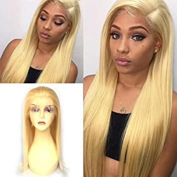 Ninilady 613 Blonde Glueless Lace Front Wigs