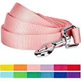 Blueberry Pet Classic Solid Color Dog Leash, 12 Colors, Matching Collar & Harness Available Separately