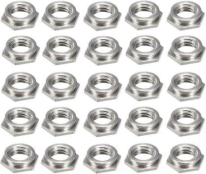 100 X M3 HEX NUT STEEL HEXAGON HEAD