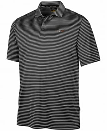 2d68c3a19 Greg Norman for Tasso Elba Men s 5-Iron Striped Performance Polo at Amazon  Men s Clothing store