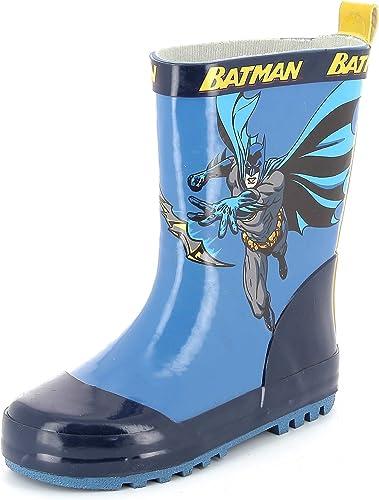 KIABI Bottes de Pluie 'Batman' Bleu 27: