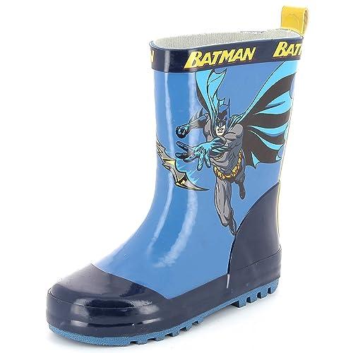 Kiabi Bottes De Pluie Batman Bleu 27 Amazonfr