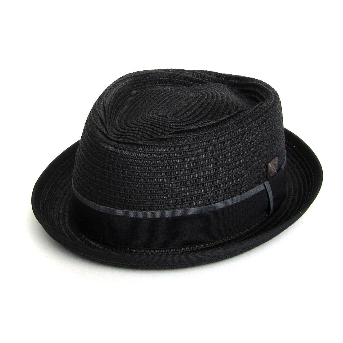 Sombrero de paja para hombre DASMARCA Summer Pork Pie