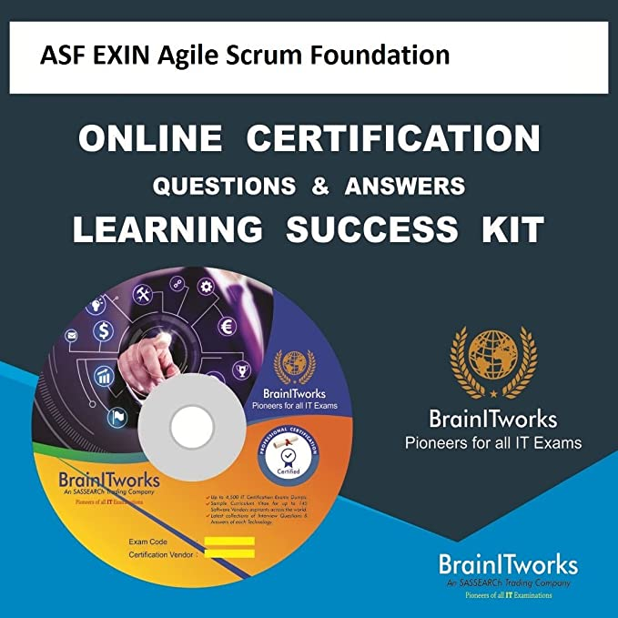 Asf Exin Agile Scrum Foundation Online Certification Learning Made