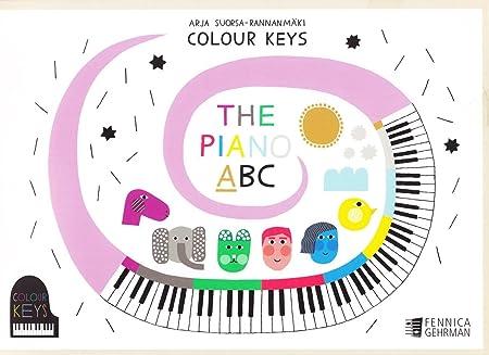 Llaves de color - El piano ABC - Libro A