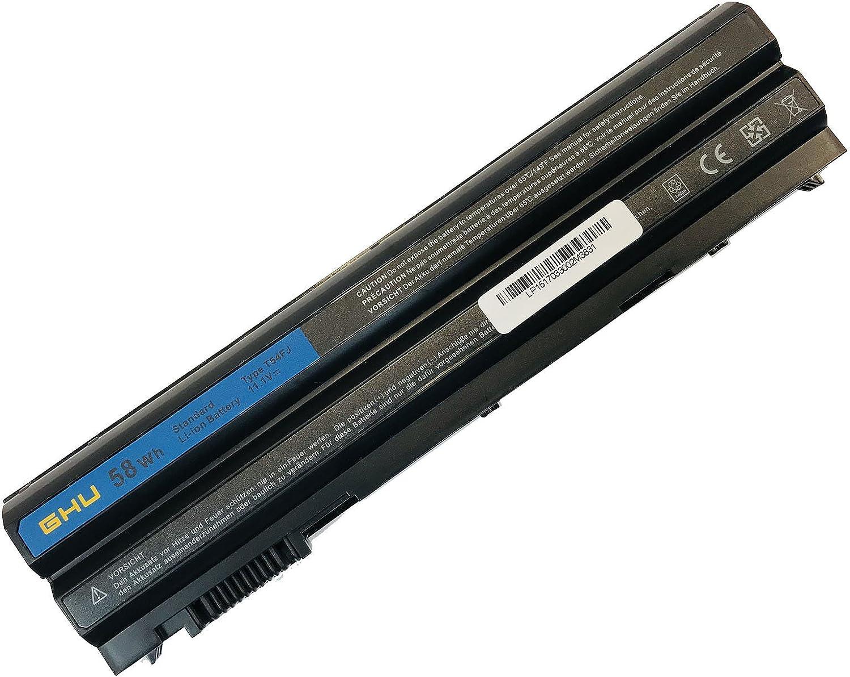New GHU Battery T54FJ M5Y0X 312-1163 HCJWT NHXVW PRRRF Compatible with Dell Latitude E5420 E5430 E5520 E5530 E6420 E6430 E6440 E6520 E6530 E6540 YKF0M X57F1 04NW9 8858X P8TC7 T54F3 8858X N3X1D