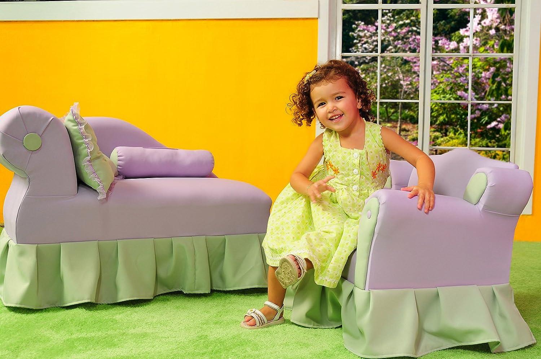 Lavender//Green KEET Princess Kids Chair