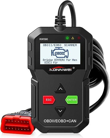 Universal OBD2 II Auto Diagnostique Lecteur code Outil de Défaut Scanner KW590