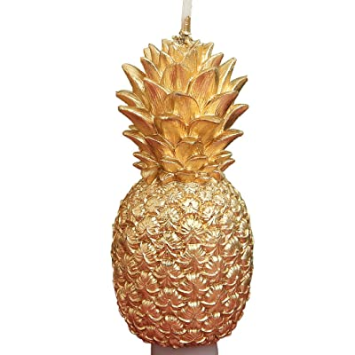 ILIKEPAR Creative Golden Pineapple Smokeless Candle for Birthday Or for Party: Home & Kitchen [5Bkhe1804979]