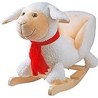 YAOBLUESEA Caballo balancín,Mecedora de ovejas Animal, balancín