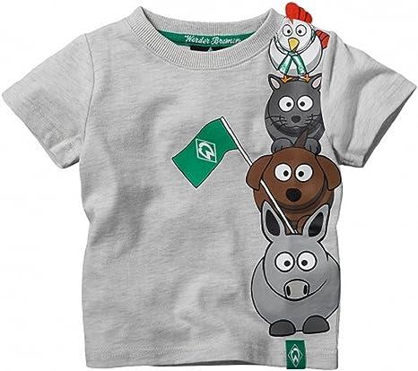 SV Werder Bremen Kids Bremen – Camiseta, gris: Amazon.es: Deportes ...