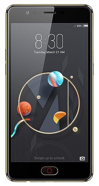 Nubia M2 Lite (Black-Gold, 4 GB RAM + 32GB Memory) Smartphones at amazon