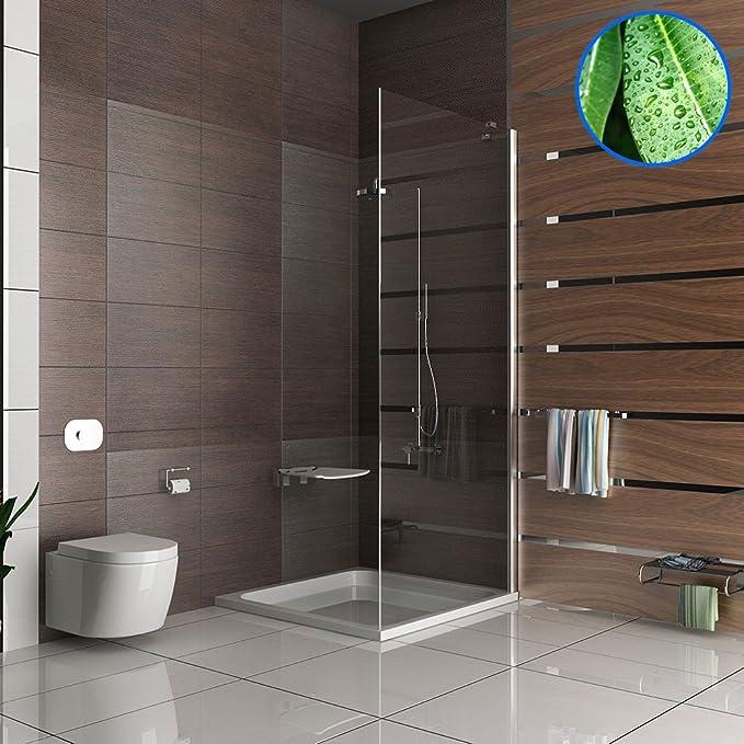 Mampara ducha con cabina de ducha de 100 x 195 cm ducha puerta de ...