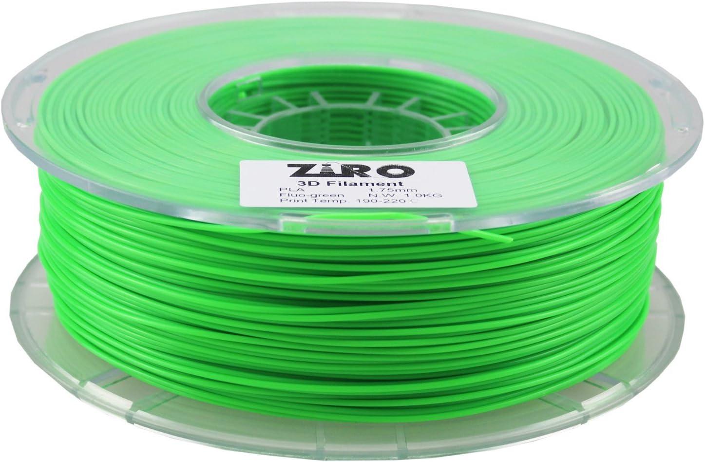 Filamento para impresora 3D Ziro, PLA, 1,75 kg, precisión ...