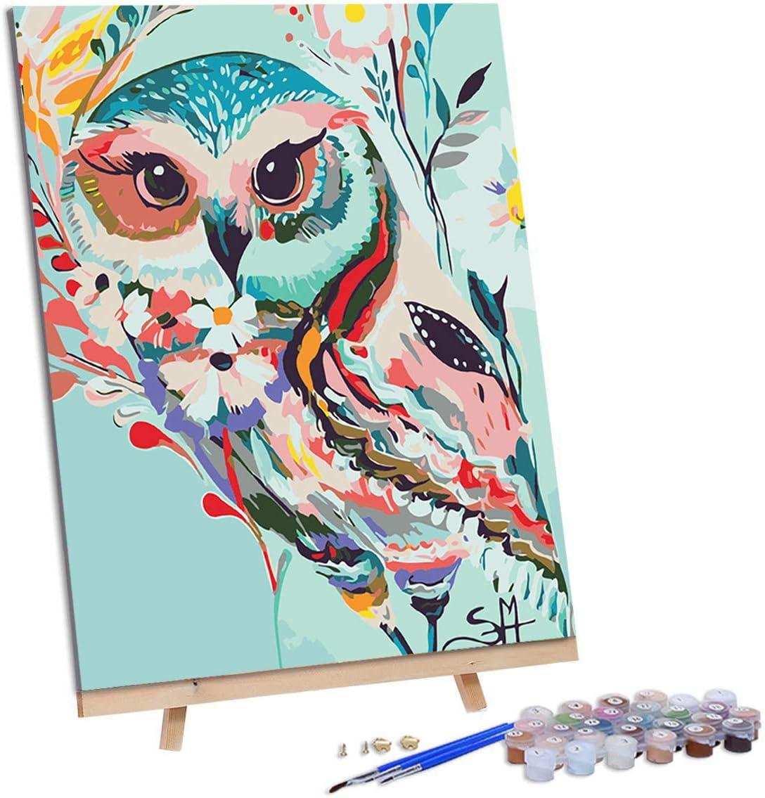 pintura por números adultos 40 x 50 cm