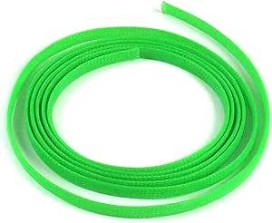 """10 Feet Keep It Clean KICWFAGN0375L010 truck 3//8/"""" Green Ultra Wrap Wire Loom"""