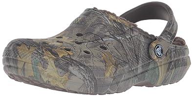 Crocs Schuhe - Classic Realtree Xtra Lined - Chocolate, Größe:41-42 Eu