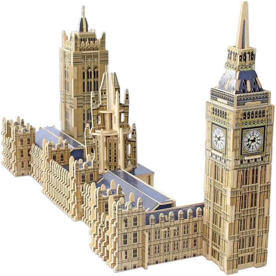 Educa Borrás - Parlamento y Big Ben, Puzzle 3D (16971): Amazon.es: Juguetes y juegos