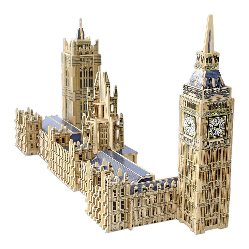 Educa Borrás - 16971.0 - Big Ben & Parliament - 3D Monument - Puzzle