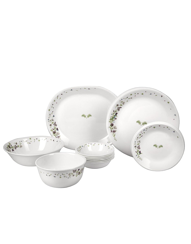 726aab96723e Buy Corelle Dancing Floral Glass Dinnerware Set