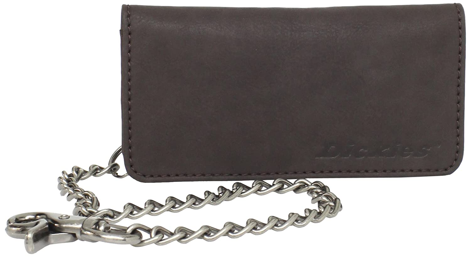 Dickies Men's Trucker Wallet With Chain Brown One Size Dickies Men' s Accessories 31DI3000