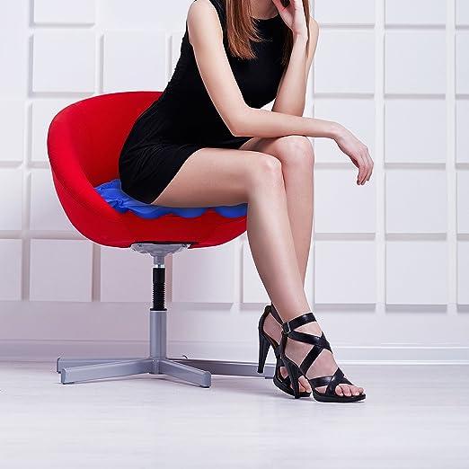 Amazon.com: Hinchable coxis Cojín de asiento soporte de la ...