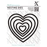 Docrafts Nesting Dies, Heart (Pack of 5)