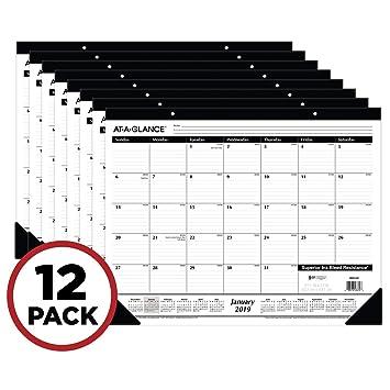 Amazon.com: AT-A-GLANCE - Agenda semanal de citas Paquete de ...