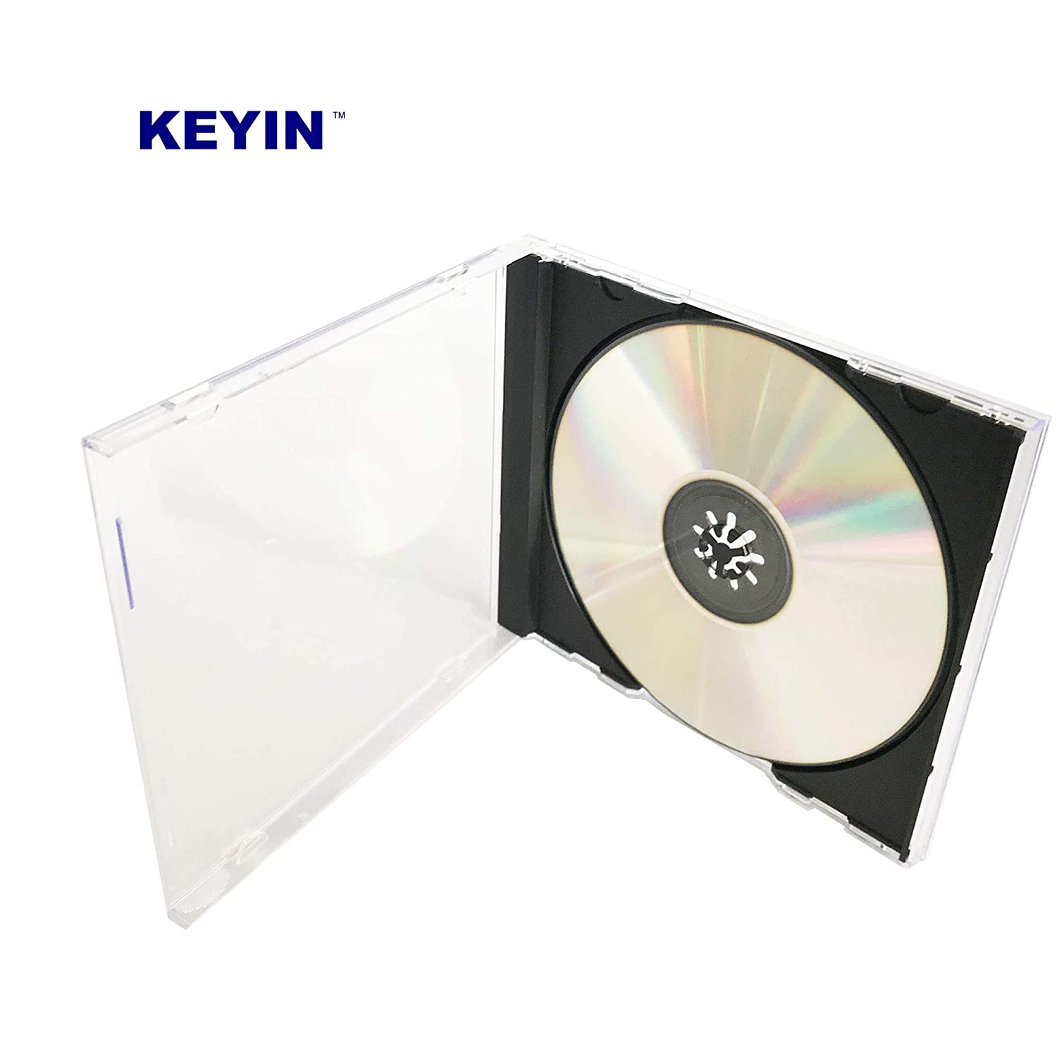 Amazon.com: Keyin - Estuche para CD (50 unidades), color ...
