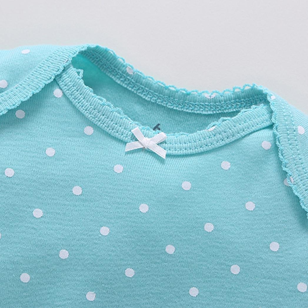 TUDUZ 5 St/ücke Neugeborenes Baby Jungen M/ädchen Print Kleidung T/äglichen Spielanzug Playsuit Jumpsuit f/ür 0-24 Monate
